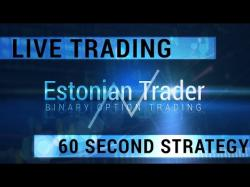 Binary Option Tutorials - 24Option Strategy 60 Second Strategy - Live Trading V