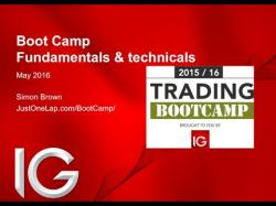 Binary Option Tutorials - trading boot Trading Boot Camp with IG (session