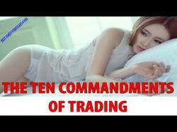 Binary Option Tutorials - trading available The Ten Commandments of Trading [Be