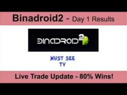 Binary Option Tutorials - trading wins Binadroid2 Live Trading Session - D