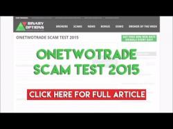Binary Option Tutorials - OneTwoTrade Review OneTwoTrade Scam Test 2015