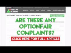 Binary Option Tutorials - OptionFair Review Are there any OptionFair Complaints