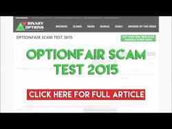Binary Option Tutorials - OptionFair Review OptionFair Scam Test 2015