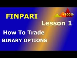 Binary Option Tutorials - Bee Options Video Course Finpari. How to trade binary option