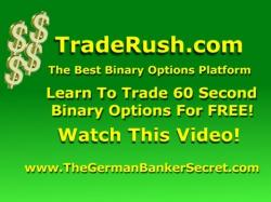 Binary Option Tutorials - TradeRush Video Course Traderush Review - The Traderush 60