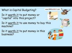Binary Option Tutorials - Capital Option Video Course Capital Budgeting Lecture in 10 min