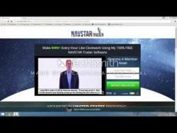 Binary Option Tutorials - trader looking NavStar Trader Review   Is it a Sca