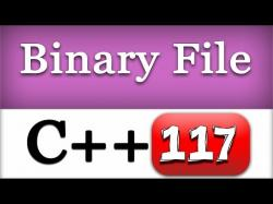 Binary Option Tutorials - GetBinary Video Course 117 | Binary Files in C++ | CPP Pro