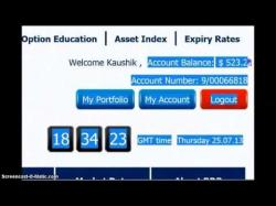Binary Option Tutorials - GMT Options Strategy BBinary - Banc De Binary 60 Second