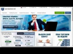 Binary Option Tutorials - Migesco Review Обзор брокера Migesco.