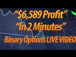 Binary Option Tutorials - Opteck Strategy LIVE VIDEO PROOF $6,589 in 2 minute
