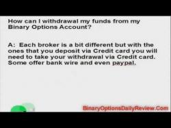 Binary Option Tutorials - Bee Options Video Course Withdraw From BeeOptions Tutorial