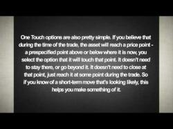 Binary Option Tutorials - GOptions Video Course Different trading instruments avail