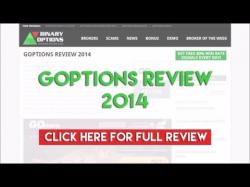 Binary Option Tutorials - GOptions Review GOptions Review 2014