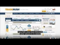 Binary Option Tutorials - TradeRush Strategy Earn money from TradeRush 60 sec||S