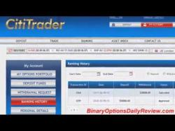 Binary Option Tutorials - CitiTrader Review CitiTrader Review   CitiTrader Live