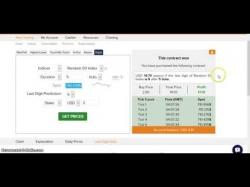 Binary Option Tutorials - trading digit TRIK WIN DIGIT MATCH (DM) BINARY
