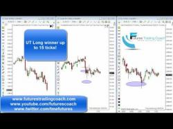 Binary Option Tutorials - trading coach 011917 -- Daily Market Review ES CL