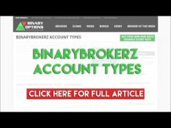 Binary Option Tutorials - Binary BrokerZ Review BinaryBrokerz Account Types