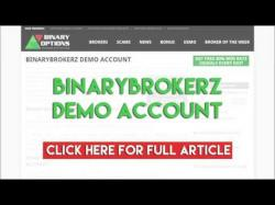 Binary Option Tutorials - Binary BrokerZ Review BinaryBrokerz Demo Account