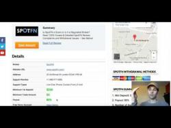 Binary Option Tutorials - SpotFN Review SpotFN Binary Options Broker Review