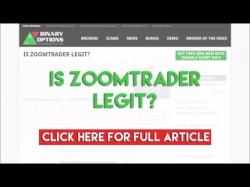 Binary Option Tutorials - ZoomTrader Review Is ZoomTrader Legit?
