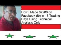Binary Option Tutorials - trading days How I Made $7200 on Facebook (fb) i