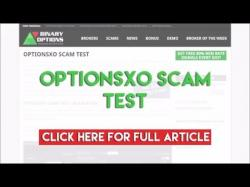 Binary Option Tutorials - OptionsXO Review OptionsXO Scam Test 2015
