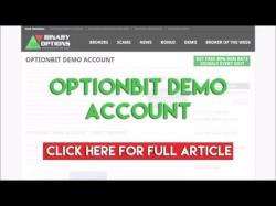 Binary Option Tutorials - OptionBit Review OptionBit Demo Account