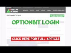 Binary Option Tutorials - OptionBit Review OptionBit Login