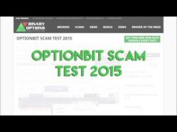 Binary Option Tutorials - OptionBit Review OptionBit Scam Test 2015