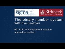 Binary Option Tutorials - Binary8 Video Course Binary 09: 8 bit 2's complement not