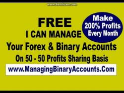 Binary option trade video
