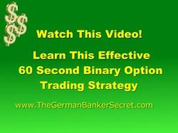 Binary Option Tutorials - Optie24 Strategy 60 second Binary Options Strategy T
