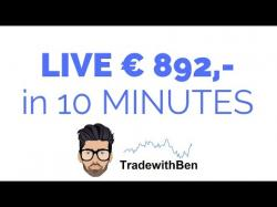 Binary Option Tutorials - Optie24 Strategy + €892 in 10 minutes - Binary Opt